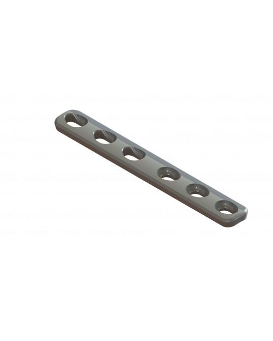 Płytka kompresyjna do wkrętów o średnicy 2,0 mm
